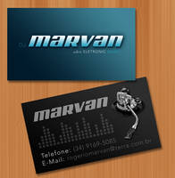 Business Card DJ Marvan by Miojuh