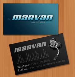 Business Card DJ Marvan