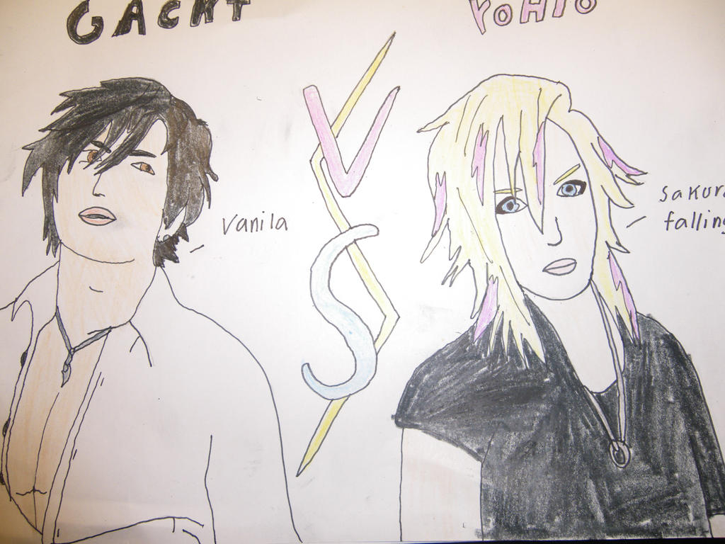 Gackt Vs Yohio by FantasyWorld24