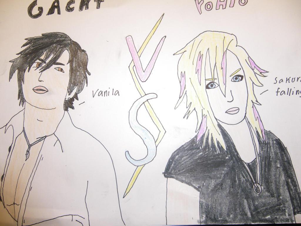 Gackt Vs Yohio by FantasyWorld24