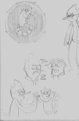 Regular Show sketches