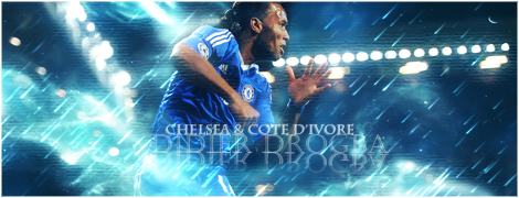 Signature Didier Drogba by oogi1