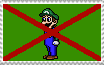 Weegee SUCKS stamp by LMF100