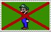 Weegee SUCKS stamp by LMF100