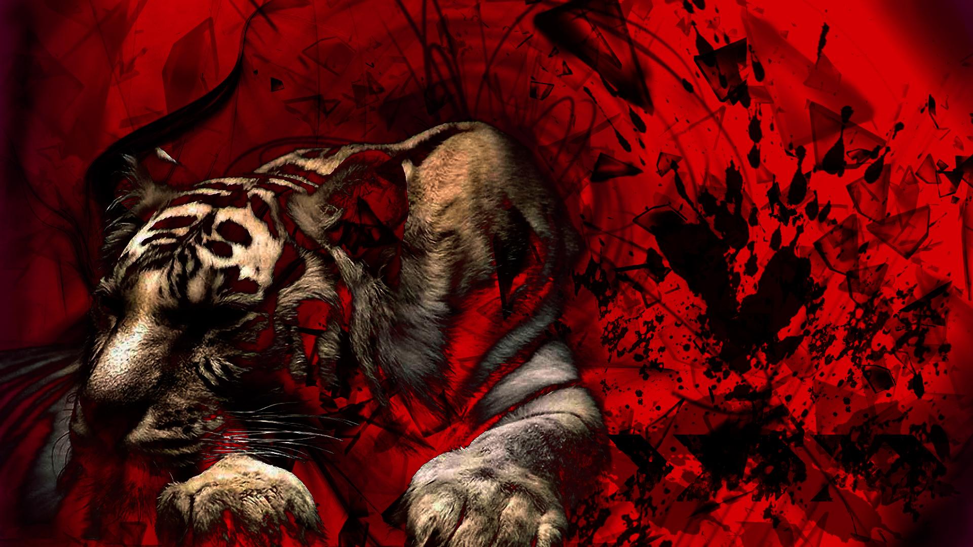Epic tiger wallpaper by brygman on deviantart epic tiger wallpaper by brygman altavistaventures