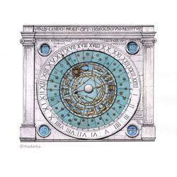 Padova's Clock by madartia