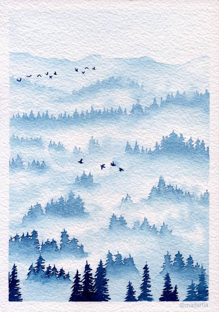 Misty Forest 1 by madartia