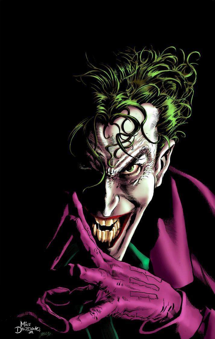 Joker - colors by gabcontreras on deviantART