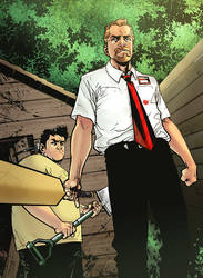 Shaun of the Dead 2_5 _ colors by gabcontreras