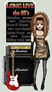 80's Rocker Doll 2 by mrsbladez