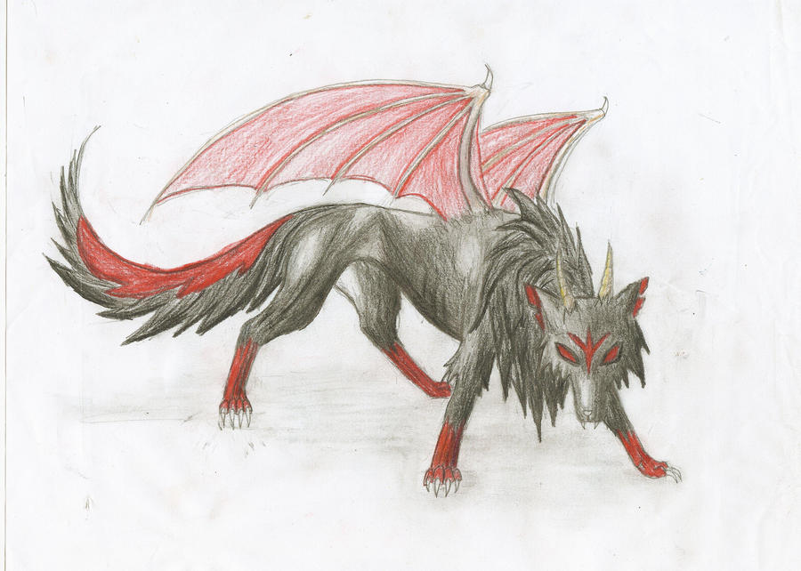 Black Demon Wolf Demon Wolf by Nutrea