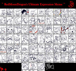 Toothless Mega Expression Meme by tribute27