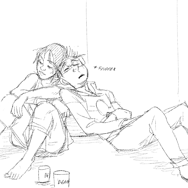 Resting, naptime. by tribute27