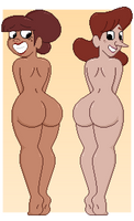 Brilly Brumley and Nullity Pritchard by Cici-Bee-Inc