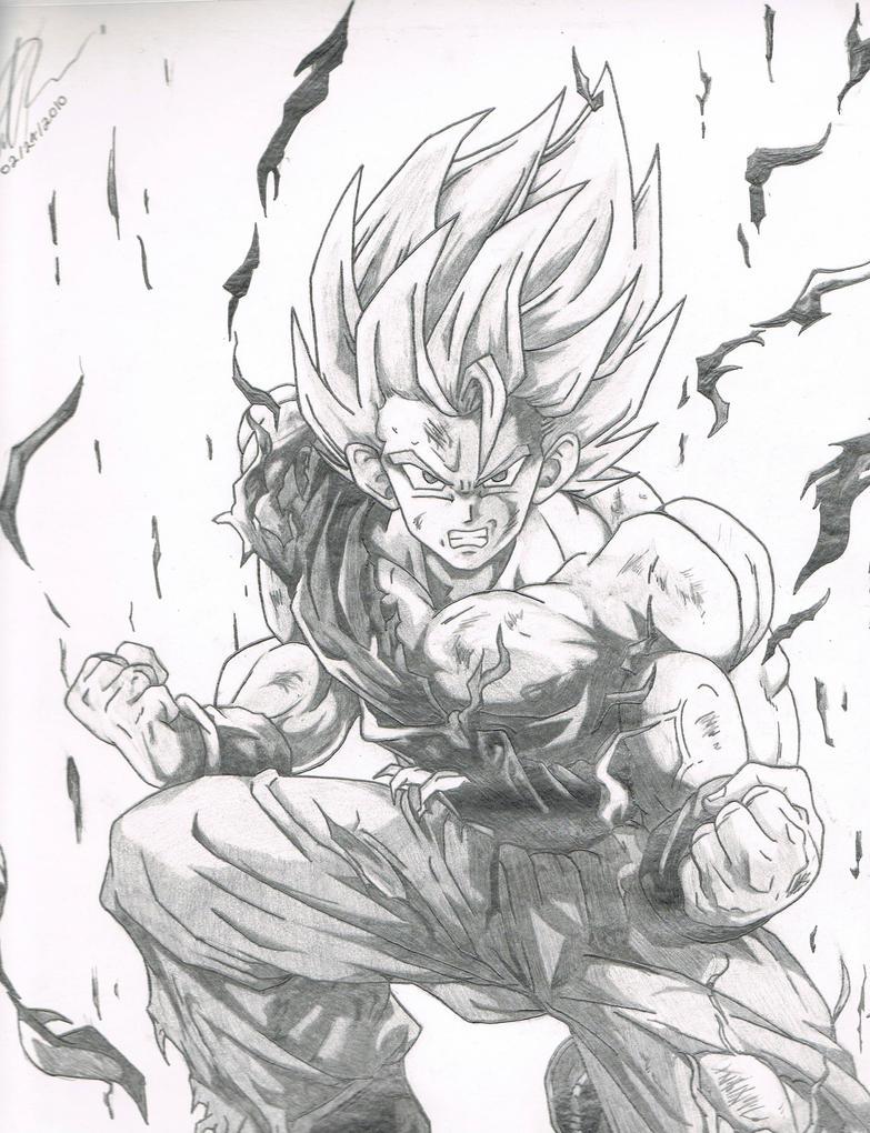 Goku Super Saiyan Drawing Super