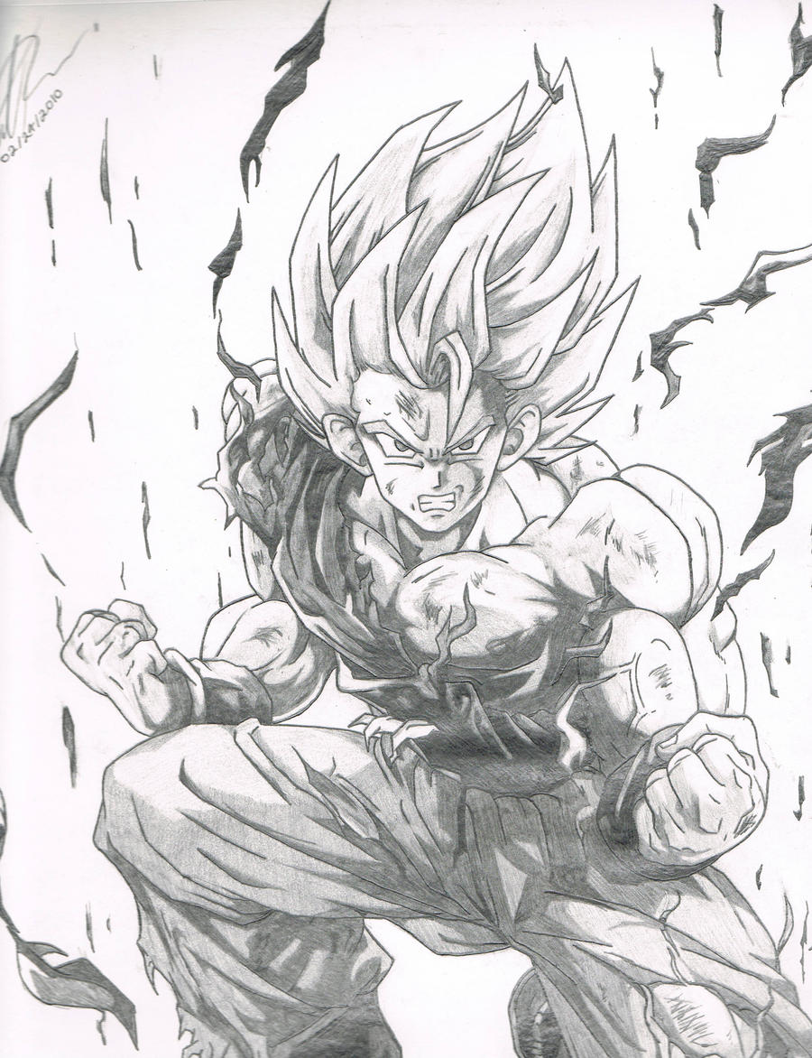 Super Saiyan Goku by MatReeves on DeviantArt