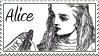 Alice Stamp by Bratasha