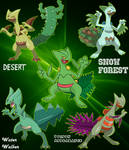 Sceptile Variations