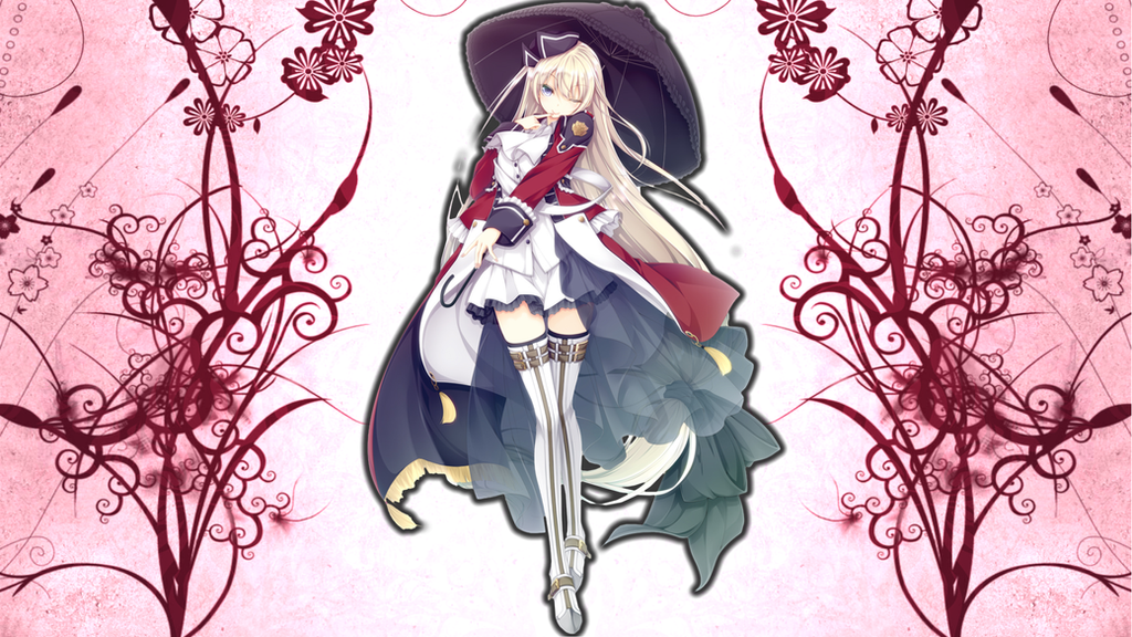 Anime school girl wallpaper by symphonicravenz by symphonicravenz voltagebd Choice Image