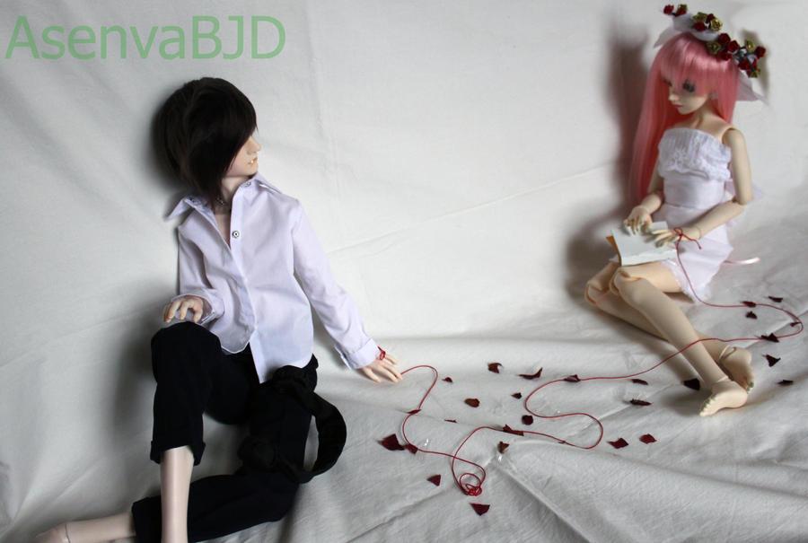 Fallen Petals by Asenva
