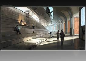 Future Colosseum by Aisxos