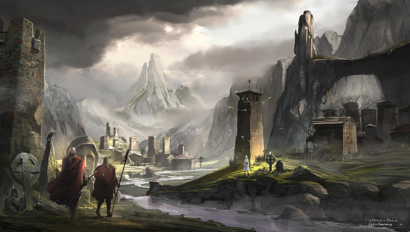 Viking underworld by Aisxos
