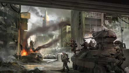 Battle of Taipei, 2021 by Aisxos