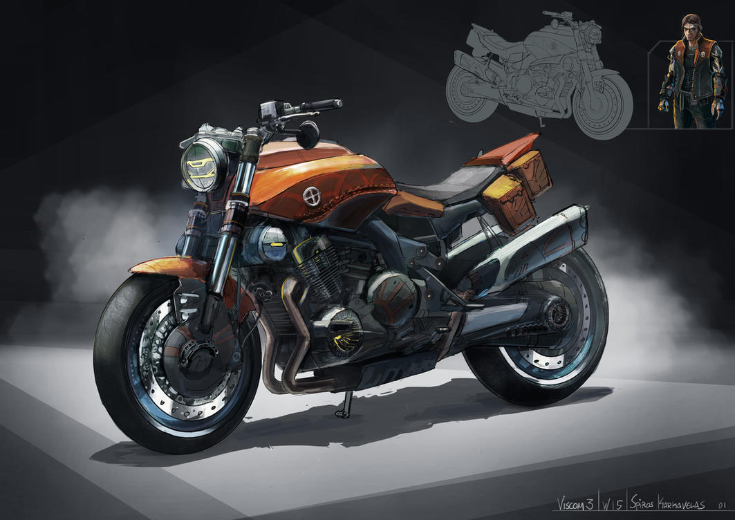 Quick bike design by Aisxos