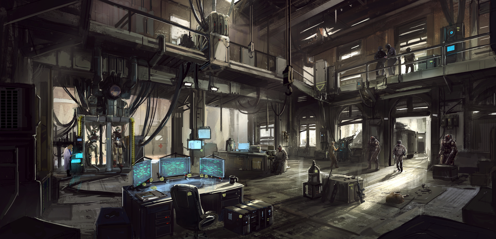 Base Of Operations By Aisxos On Deviantart