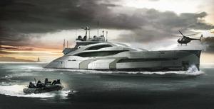 Spy yacht by Aisxos
