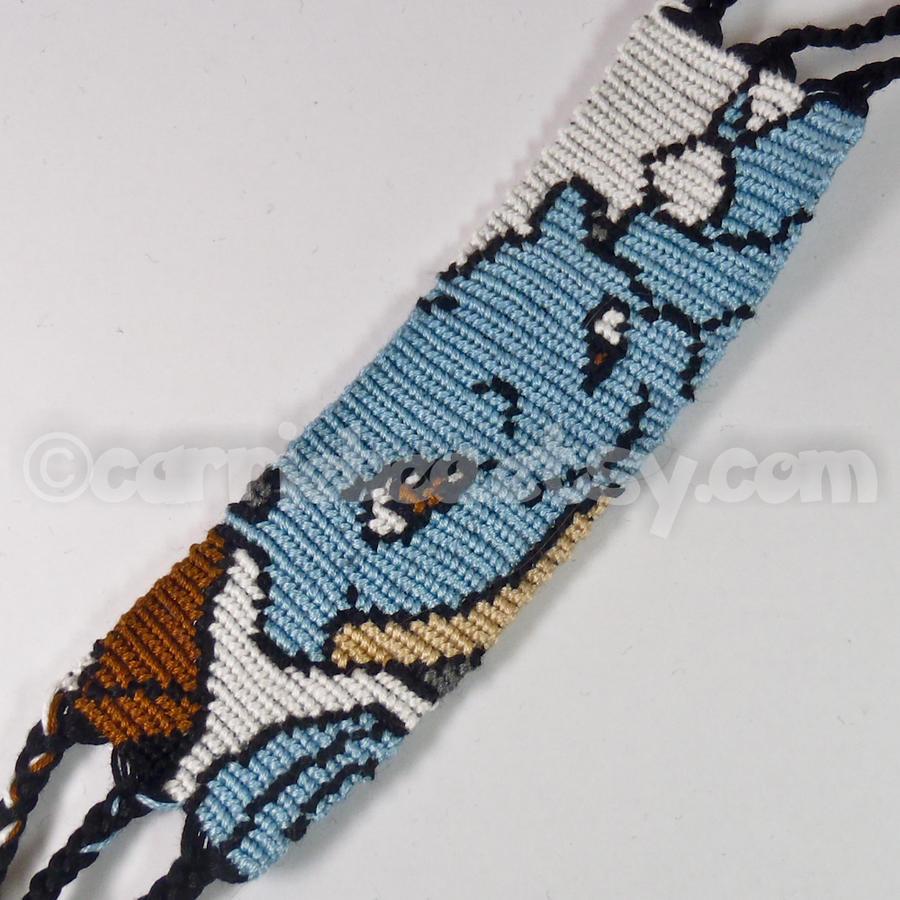 Blastoise 15 Inch Friendship Bracelet By Carriebea