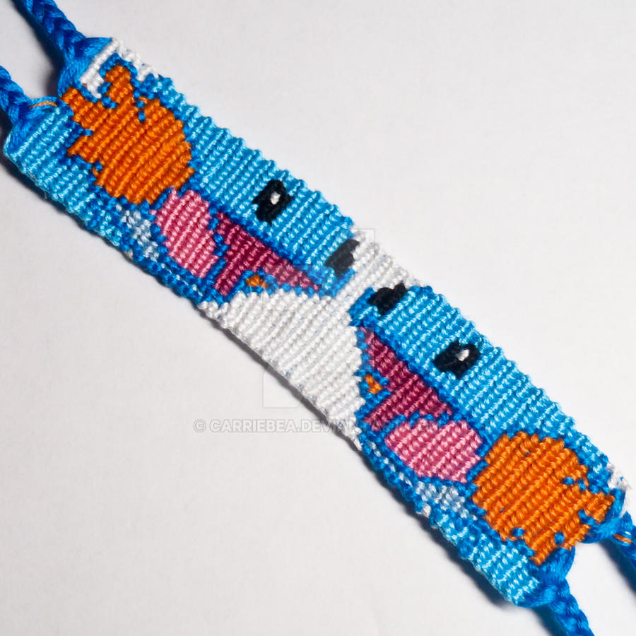 Mudkip 125 Inch Friendship Bracelet By Carriebea