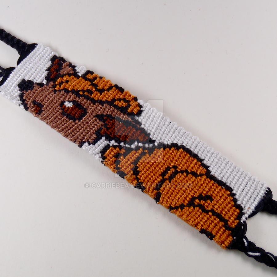 Vulpix 125 Inch Friendship Bracelet By Carriebea