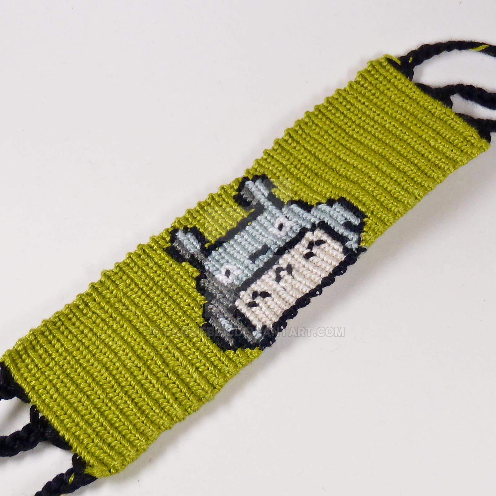 Totoro 15 Inch Friendship Bracelet By Carriebea