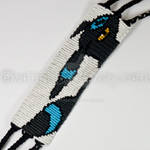 Shiny Umbreon 1.5 inch Friendship Bracelet