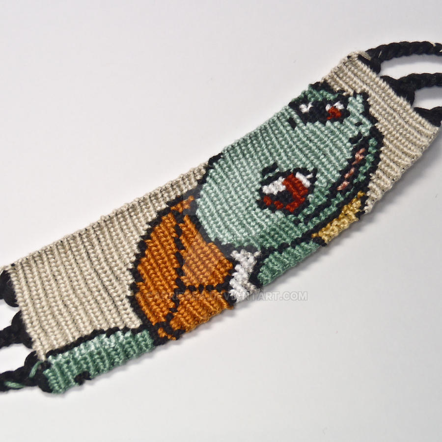 Squirtle 15 Inch Friendship Bracelet By Carriebea