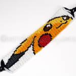 Pikachu 1 inch Friendship Bracelet - New Version