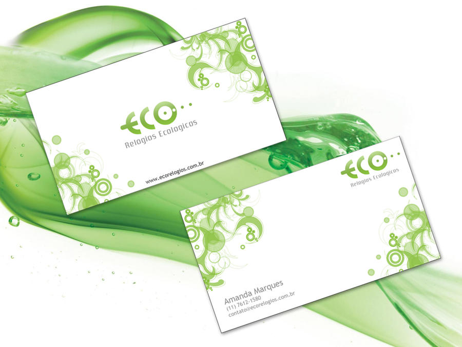 Eco Business Card by Rafaell18 on DeviantArt