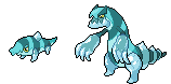 Daily Fakemon Day 2 - Terrorice by mjco