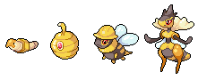 Daily Fakemon Day 8 - Honarchee by mjco