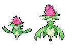 Daily Fakemon Day 22 - Thistance by mjco