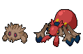 Daily Fakemon Day 31 - Orbisian Galvantula