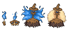 Daily Fakemon Day 32 - Wickitch by mjco