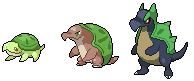 Daily Fakemon Day 45 - Snapzilla by mjco