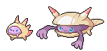 Daily Fakemon Day 47 - Musscel by mjco