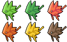 Daily Fakemon Day 49 - Leafish by mjco