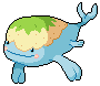 Daily Fakemon Day 54 - Islale by mjco