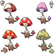 Daily Fakemon Day 57 - Shroomimic by mjco