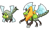 Daily Fakemon Day 58 - Draganeura by mjco