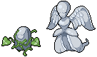 Daily Fakemon Day 71 - Mourngel by mjco